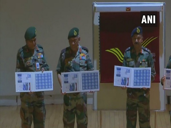 Army chief General Bipin Rawat releasing a commemorative stamp on Siachen Glacier on Friday.