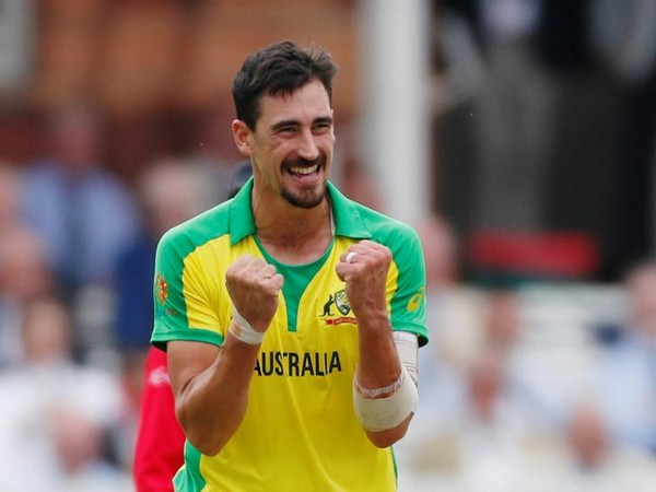 Australia fast bowler Mitchell Starc