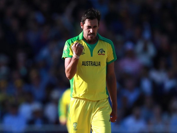 Australia fast bowler Mitchell Starc (Photo/cricketworldcup Twitter)