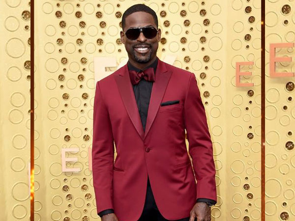 Sterling. K. Brown at Emmy's purple carpet (Imag4e courtesy: Instagram)