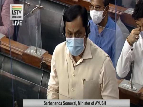 Sarbananda Sonowal, Minister of AYUSH