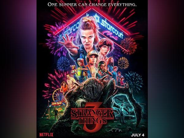 Poster of 'Stranger Things' season 3 (Image source: Instagram)
