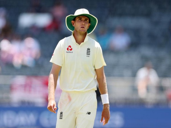 England pacer Stuart Broad.