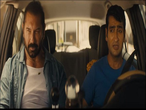 Dave Bautista and Kumail Nanjiani in a still from the trailer, Image courtesy: YouTube