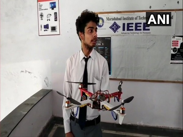 Student claim inventing sandal-drone security system for women safety