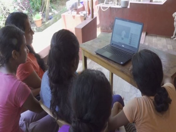 Students catching up on lessons via lectures uploaded on YouTube by the DKPUCPA