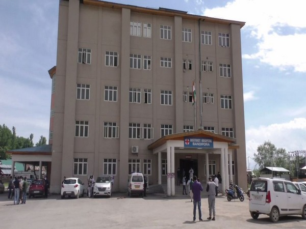 Bandipora District Hospital in Jammu and Kashmir (Photo/ANI)