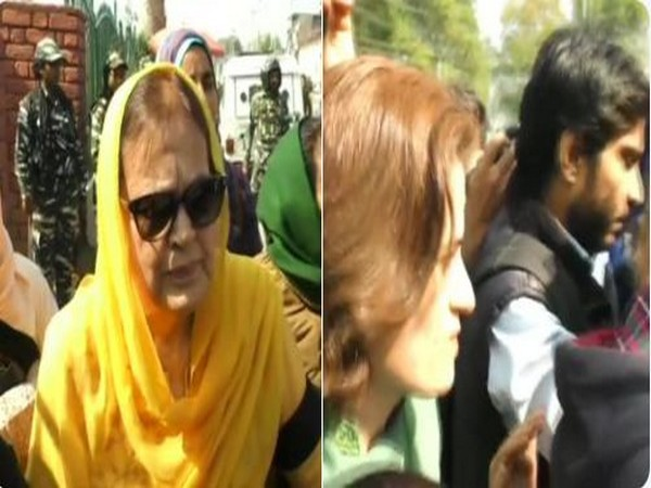 National Conference (NC) President Farooq Abdullah's sister and daughter (File photo)