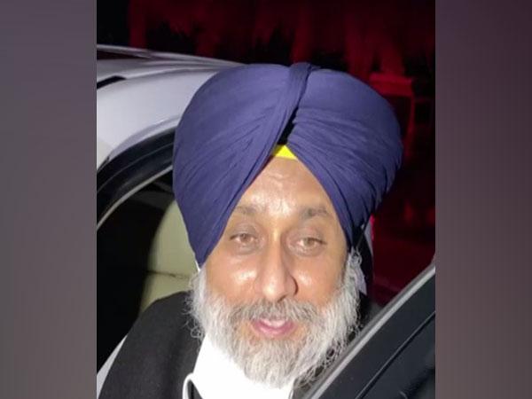 Shiromani Akali Dal President Sukhbir Singh Badal (Photo/ANI)