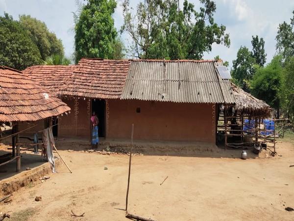 Visual from Minpa village in Chhattisgarh's Sukma. (Photo/ ANI)