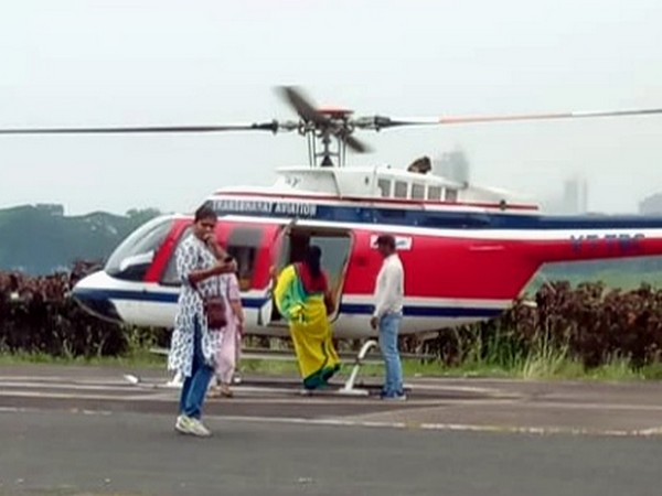 Flying squad of EC conducted search on Supriya Sule's helicopter in Mumbai on Friday
