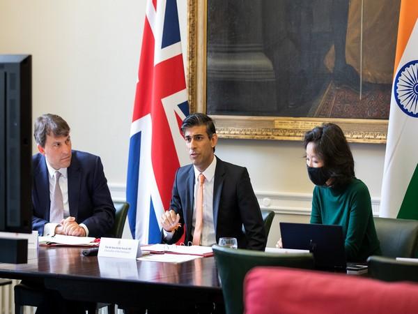 UK Chancellor Rishi Sunak.