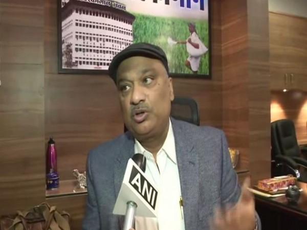 Sunil Singh, Biscomaun Chairman talking to ANI in Patna on Thursday