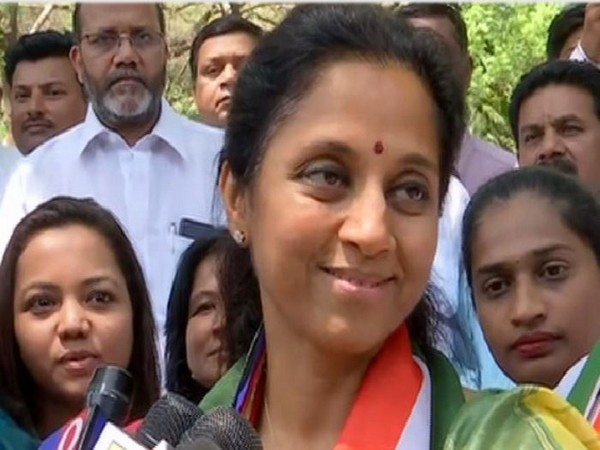 NCP leader Supriya Sule. File photo