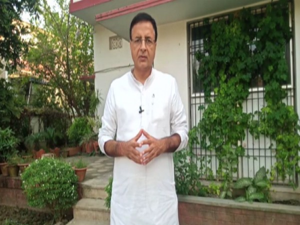 Congress spokesperson Randeep Singh Surjewala (File photo/ANI)