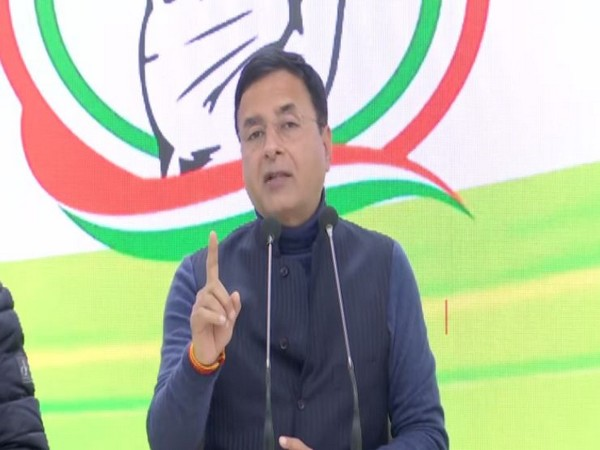 Congress spokesperson Randeep Surjewala. (Photo/ANI)
