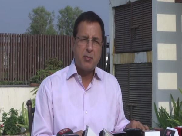 Congress leader Randeep Singh Surjewala. (File Photo)