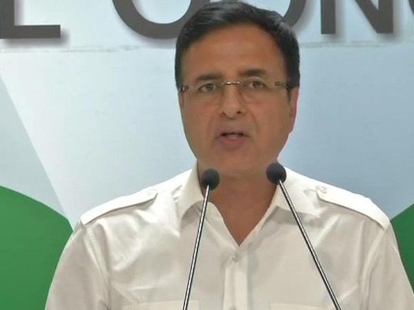 Congress chief spokesperson Randeep Surjewala (File photo)