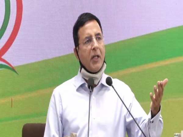 Congress leader Randeep Singh Surjewala. (File Photo/ANI)