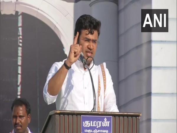 BJP Yuva Morcha chief Tejasvi Surya