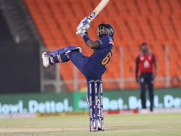 India batsman Suryakumar Yadav (Image: BCCI)