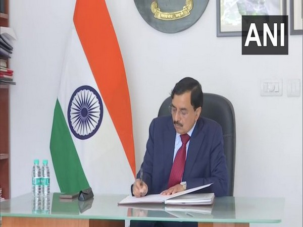 Sushil Chandra takes charges as Chief Election Commissioner on Tuesday.