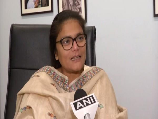 President, All India Mahila Congress, Sushmita Dev speaking to ANI in New Delhi on Wednesday.