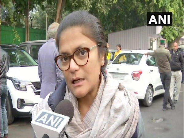 Congress spokesperson Sushmita Dev speaking to ANI in New Delhi on Tuesday.