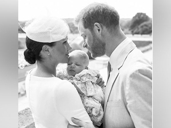 Meghan Markle, Prince Harry along with their baby Archie Harrison Mountbatten-Windsor (Image courtesy: Instagram)