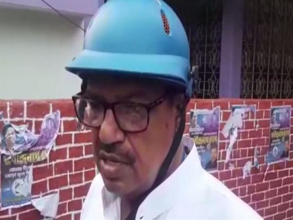 TMC candidate from Natabari Rabindra Nath Ghosh.