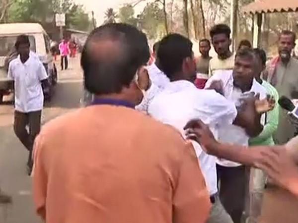 CPI(M) leader Sushanta Ghosh attacked by unknown miscreants in Salboni, Paschim Medinipur on Saturday.