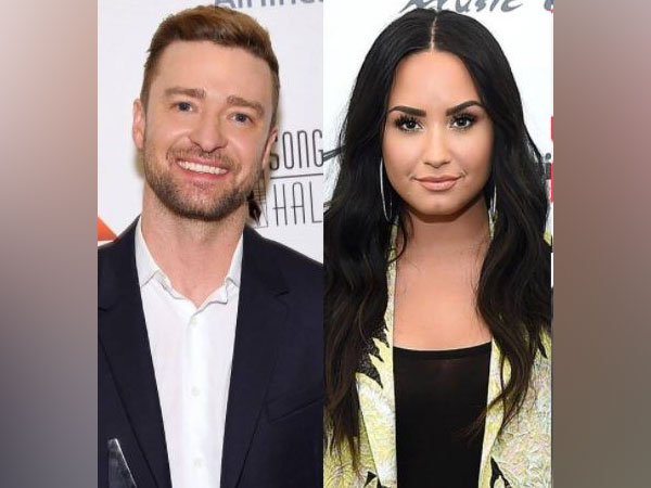 Justin Timberlake and Demi Lovato