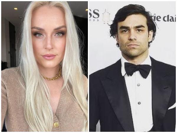 Lindsey Vonn, Diego Osori (Image courtesy: Instagram)