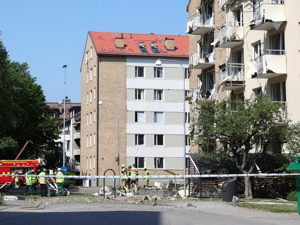 The site of incident in Linkoping, Sweden on June 7 (Photo/Reuters)