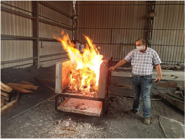 Dummy-testing of the Prototype of electric cremation system (Photo/ANI)