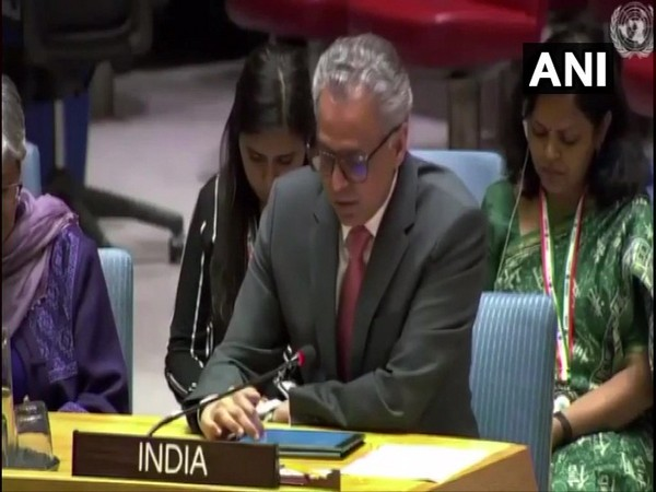 India's Permanent Representative to the UN Ambassador Syed Akbaruddin speaking at an open debate on situation in Afghanistan. (Photo/ANI)