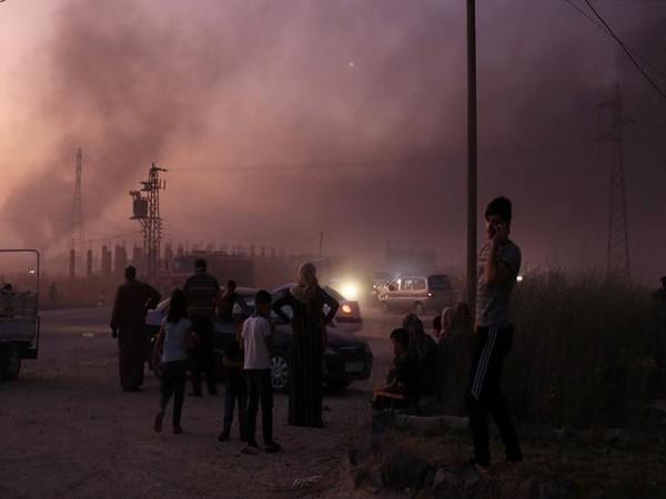 Ras al Ain town, Syria