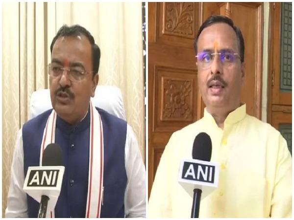 Deputy CM's Keshav Prasad Maurya and Dinesh Sharma (file pic)