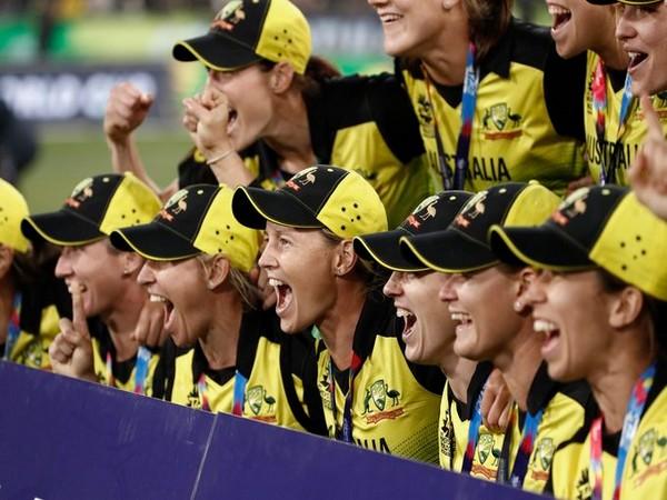 Australia after winning T20 World Cup 2020 (Photo/ ICC)