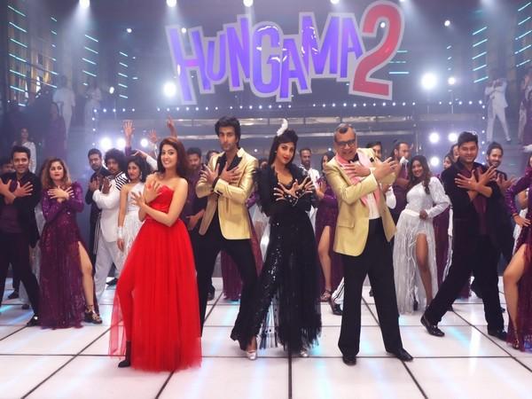The cast of 'Hungama 2'
