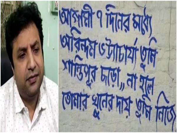 Bhartiya Janata Party leader from West Bengal Arindam Bhattacharya