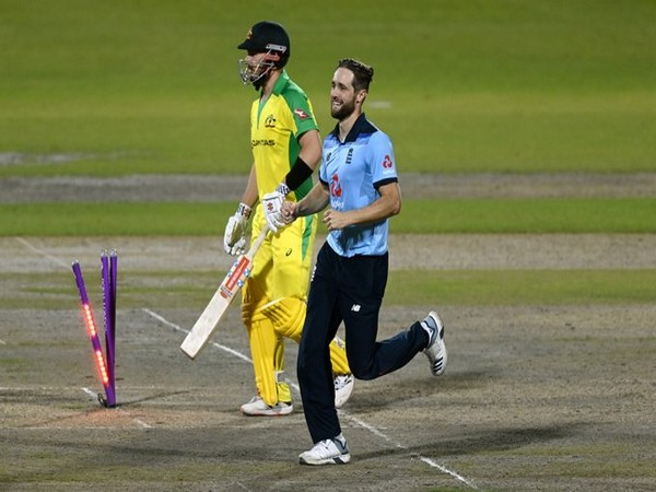 England's Chris Woakes in action against Australia in second ODI (Photo/ ICC Twitter)