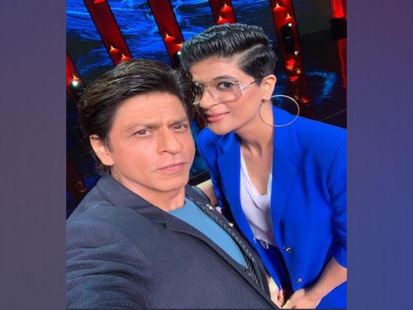 Shah Rukh Khan and Tahira Kashyap (Image courtesy: Twitter)
