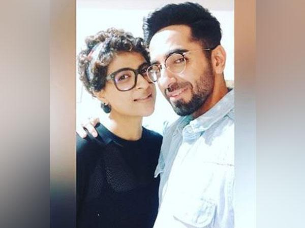 Tahira Kashyap with Ayushmann Khurrana (Image courtesy: Instagram)