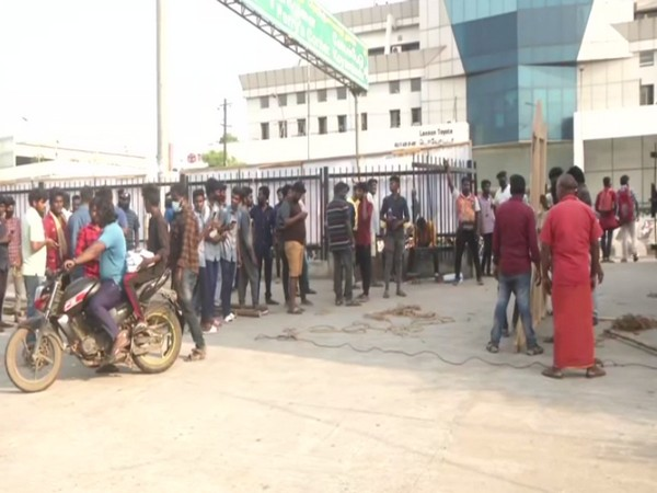 Visuals from Chennai after state government announced lockdown. (Photo/ANI)