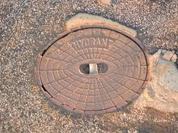 Visual from the anti-tank guided missile detachment fired at a mock target on Saturday.