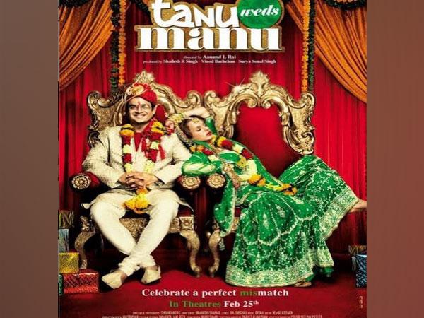 Poster of 'Tanu Weds Manu' (Image source: Instagram)