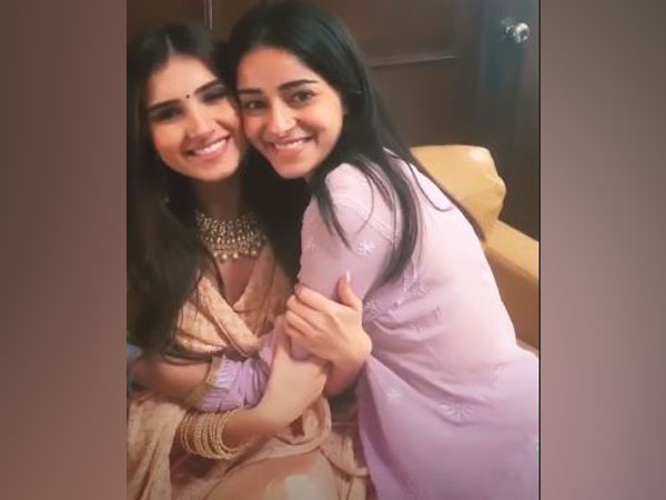 Tara Sutaria and Ananya Panday, Picture courtesy: Instagram