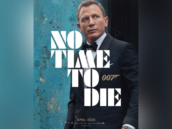 First poster of 'No Time To Die', Image courtesy: Instagram