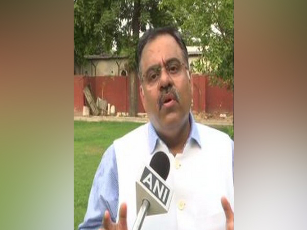 BJP national secretary Tarun Chugh (L) speaking to ANI. (R) His letter to Punjab Governor.